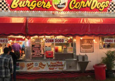 Burgers and Corndogs
