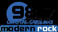 Cape Fear Fair & Expo 98.7 Coastal Carolina's Modern Rock Logo